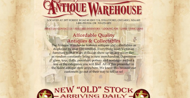 Stratford Antique Warehouse