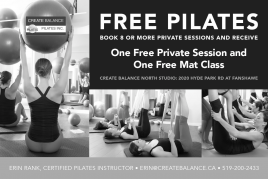 Create Balance Pilates Postcard